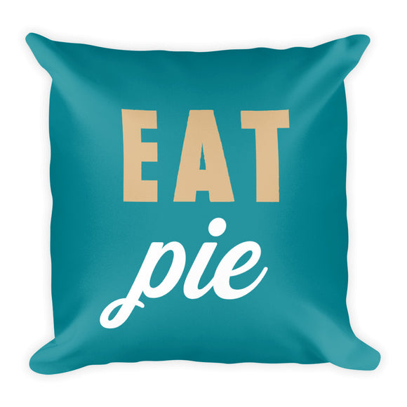 Eat Pie Fall Throw Pillow