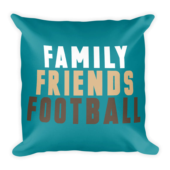 Friends Football Fall Throw Pillow