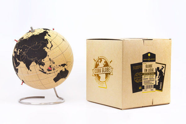 Small Cork Globe - Explore Store - 1