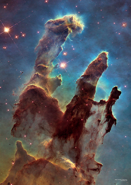 Pillars of Creation A2 Poster - Explore Store