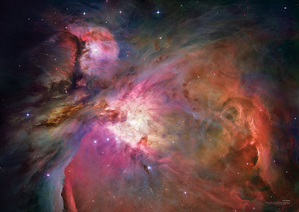 Orion Nebula A2 Poster - Explore Store