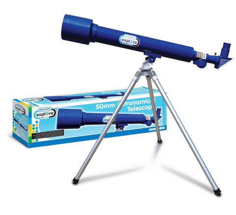Discovery 50mm Astronomical Telescope - Explore Store