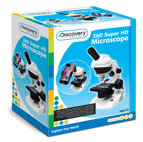 Discovery Channel 360 HD Microscope - Explore Store - 1