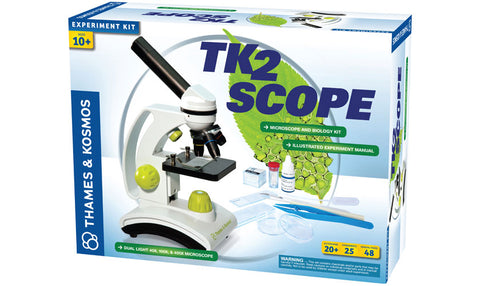 TK2 Scope - Microscope and Biology kit
