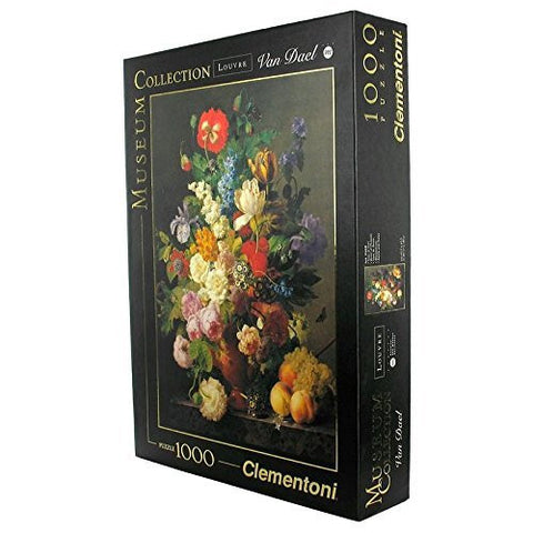 Clementoni Bowl of Flowers 1000 Piece Jigsaw Puzzle