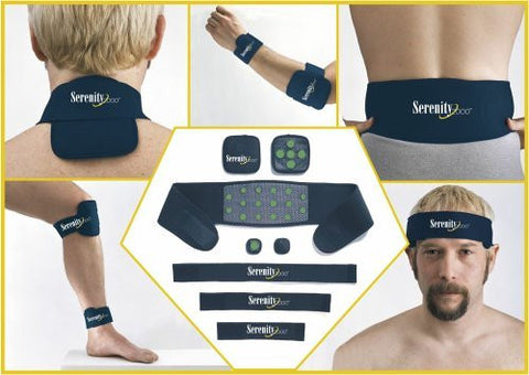 Serenity 2000  Magnetic Therapy Set  Small/Medium