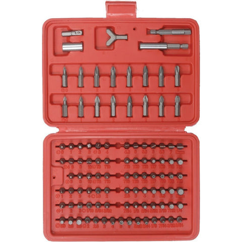 Velleman VTBT11 100-Pc Screwdriver Bit Set