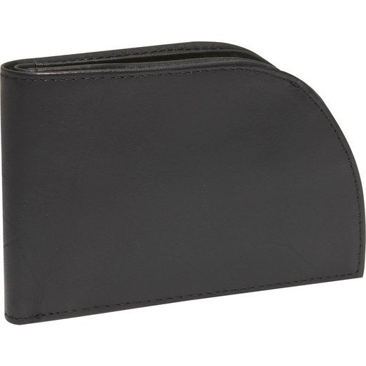 Men's Leather Front-Pocket Wallet (Black)