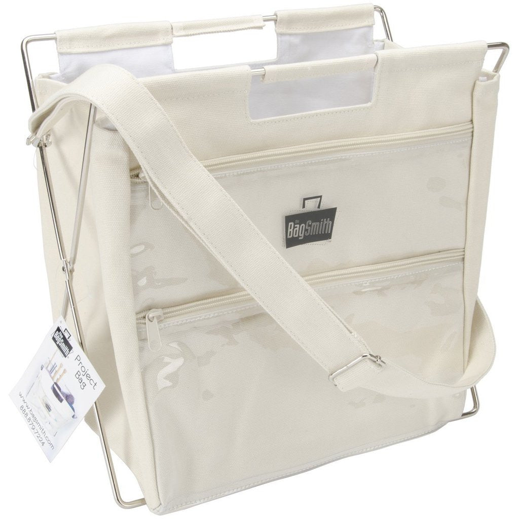 Bagsmith Natural Knitting Crafts Project Bag Collapsible Storage Stand