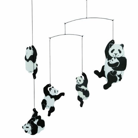 Flensted Mobiles Nursery Mobiles  Panda Mobile