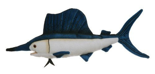 "Sailfish 10"" Stuffed Plush Animal - Cabin Critters Saltwater Fish Collection"
