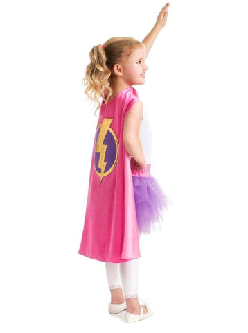 Little Adventures Girl Superhero Cape (3-8 years)