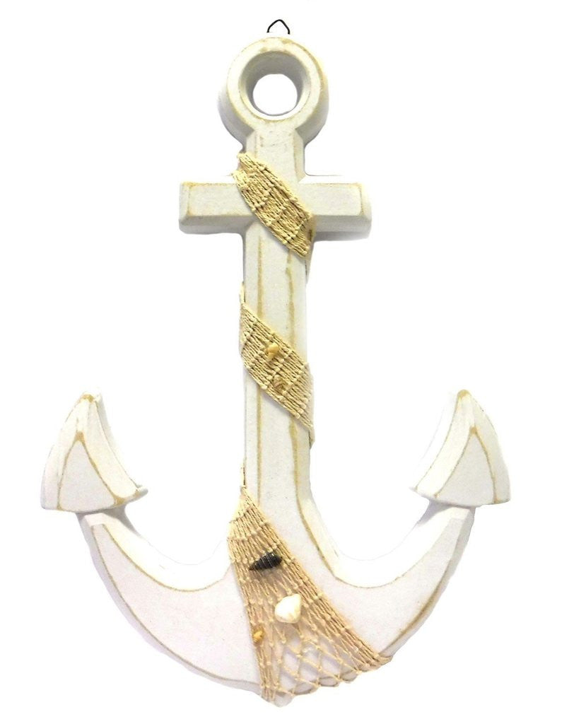 Large Anchor Wall Plaque
