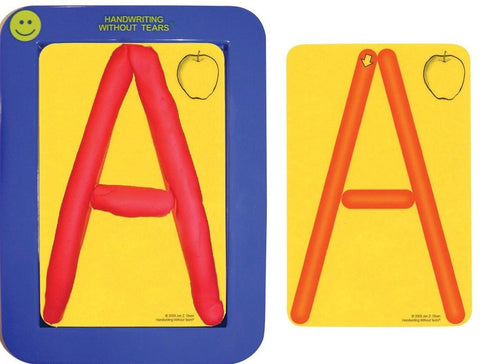 Handwriting Without Tears Pre-Writing Roll-A-Dough Letters and Numbers Set  4...
