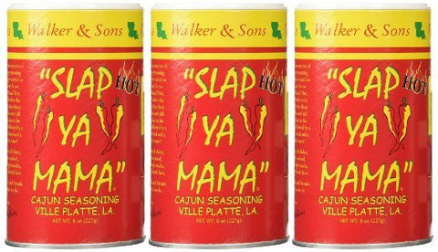 Slap Ya Mama Hot - THREE (3) 8oz Canisters