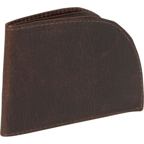 Rogue Men's Bison Leather Walletguard Front Pocket Bifold Wallet (Tan Brown)