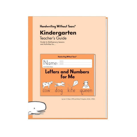 Handwriting Without Tears Kindergarten Double Line Teacher's Guide