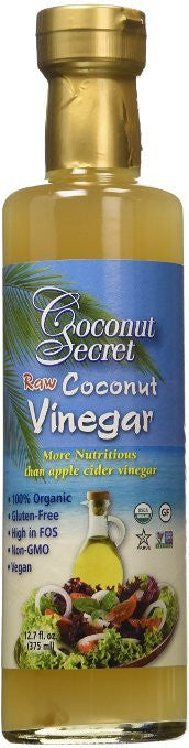 Vinegar Organic Raw Coconut 12.7 Oz (Pack Of 3)