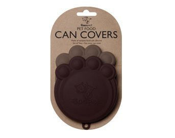 ORE Pet Pet Can Cover - Black & Grey - 2 count