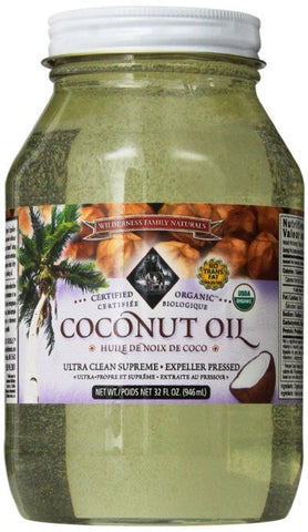 Coconut Oil  Expeller Pressed  Certified Organic  32 Fl. Oz.