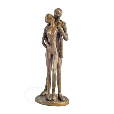 DanyaB Couple Kissing Bronze