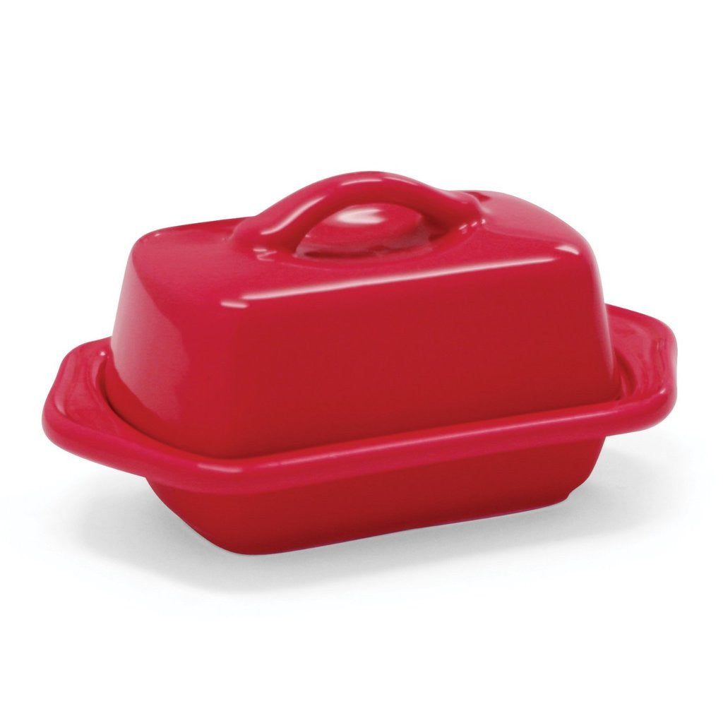 Chantal Butter Dish Mini True Red