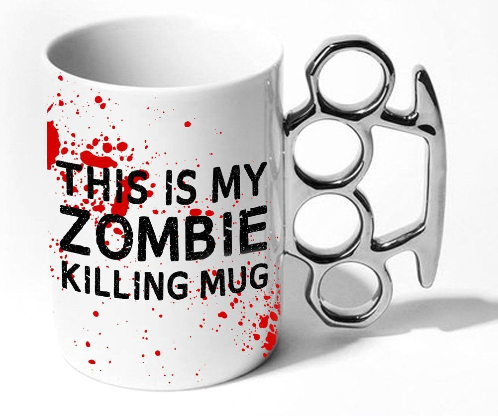 Zombie Killing Knuckle Mug