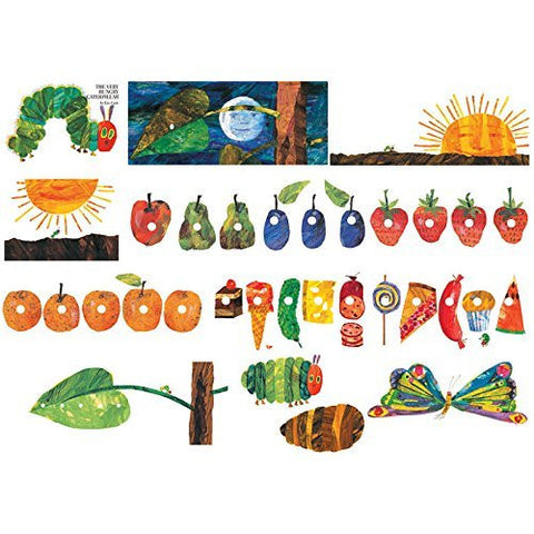 Little Folk Visuals The Very Hungry Caterpillar Flannel Board Precut Felt Fig...