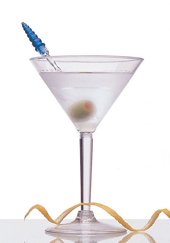 Polycarbonate Martini Glasses  7oz  Set of 2