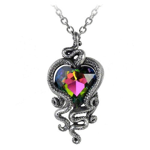 Heart of Cthulhu Pendant - Alchemy of England