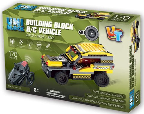UniBlock Remote Controlled RC Building Block Jeep SUV Compatible With Lego Br...