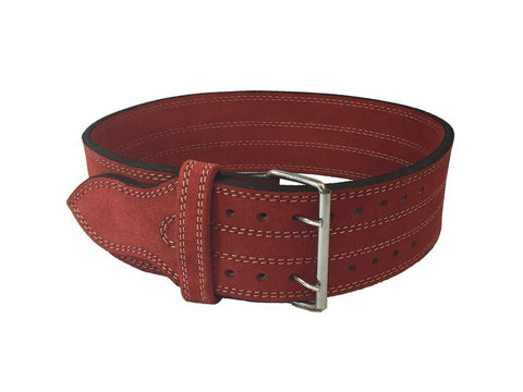 "Leather Weight Lifting Belt 4"" (Large (35in-40in))"