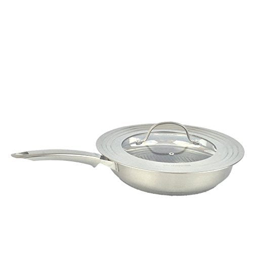 Fissler Solea 11 Inch Frypan with Glass Lid