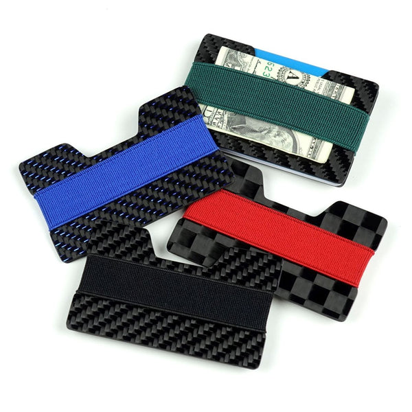 Carbon Band Wallets
