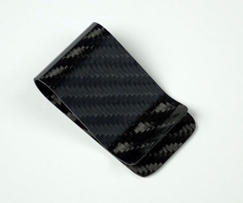 Money Clip - 4x4 Twill Carbon Fiber