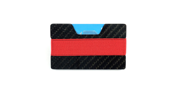 Band Wallet - 2x2 Gloss (Classic Style) Carbon Fiber