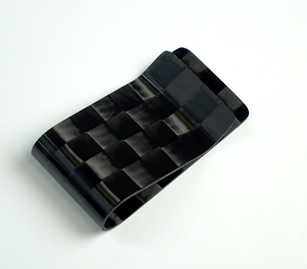 Money Clip - Spread Tow Carbon Fiber