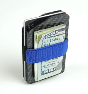 MagWallet - 2x2 Gloss (Classic Style) Carbon Fiber