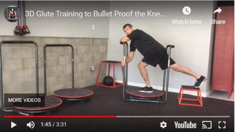 3D Glute and Bullet Proof Your Knees