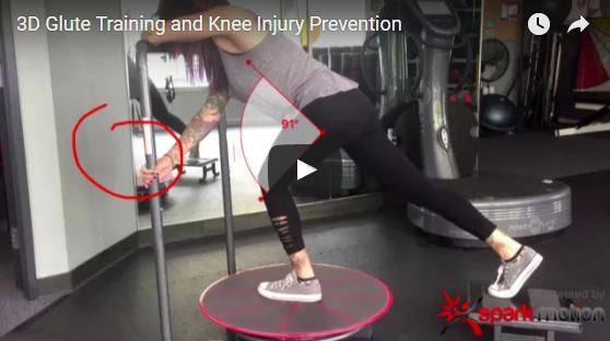 3D Reactive Glute Training and Happy Knees
