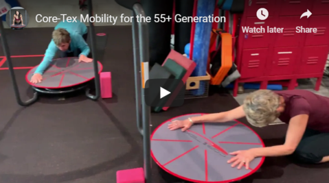 Core-Tex Mobility for the 55+ Generation
