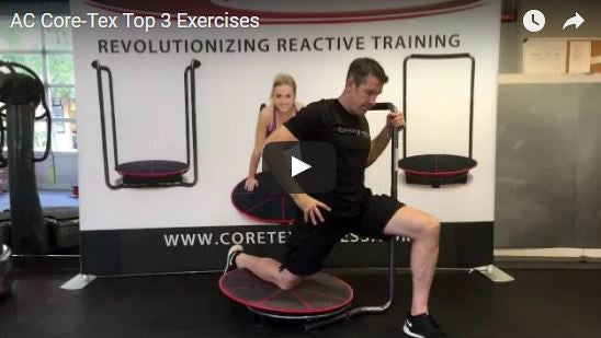 Core-Tex Inventor Anthony Carey's Top 3 Core-Tex Exercises