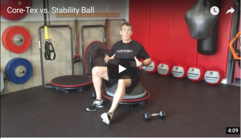 Core-Tex vs. Stability Ball