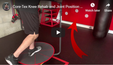 Core-Tex Knee Rehabilitation and ACL Prevention