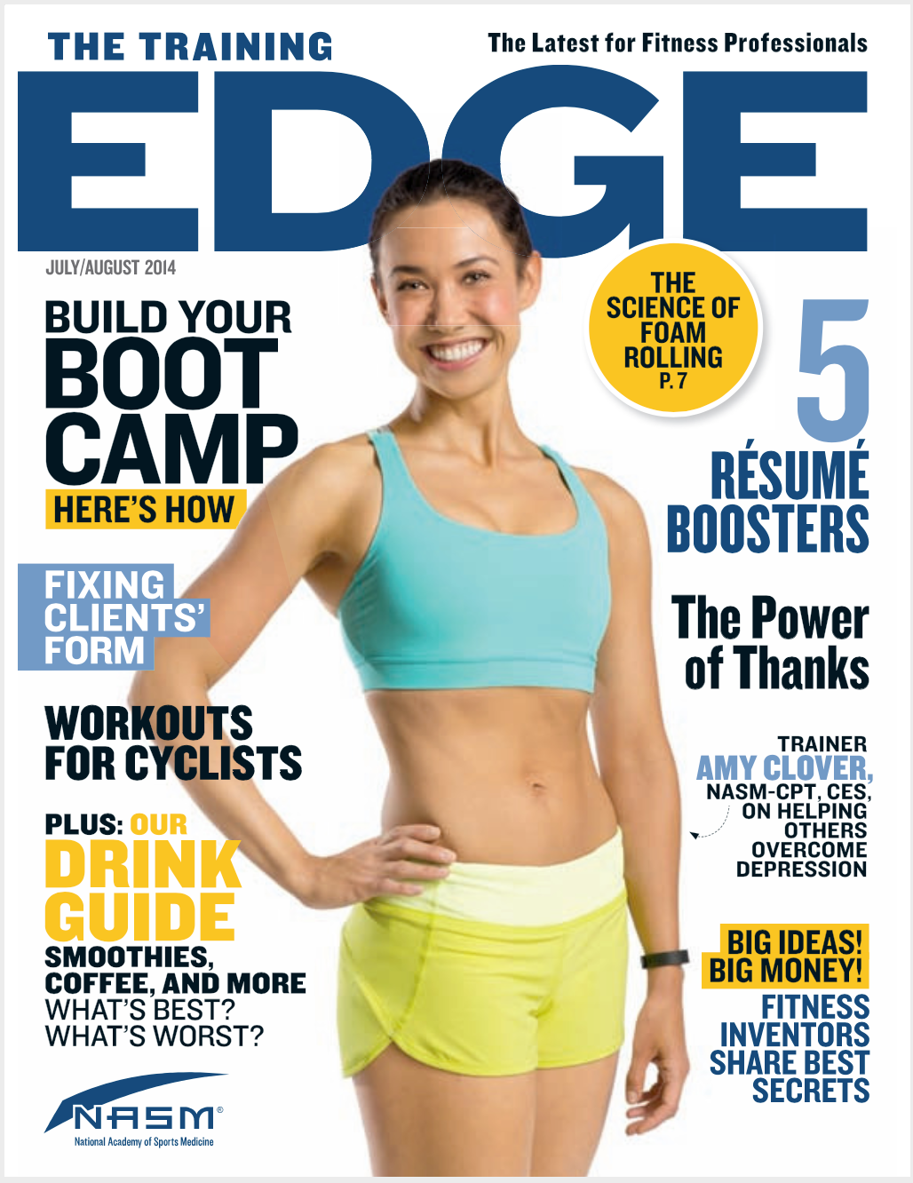 THE TRAINING EDGE MAGAZINE, JULY/AUGUST 2014:The Next Fit Thing