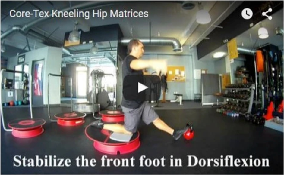 Core-Tex Kneeling Hip Mobility Matrix