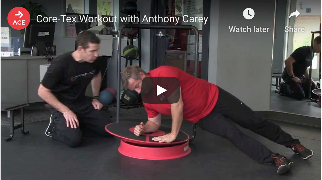 Core-Tex™ workout with the American Council on Exercise (ACE)