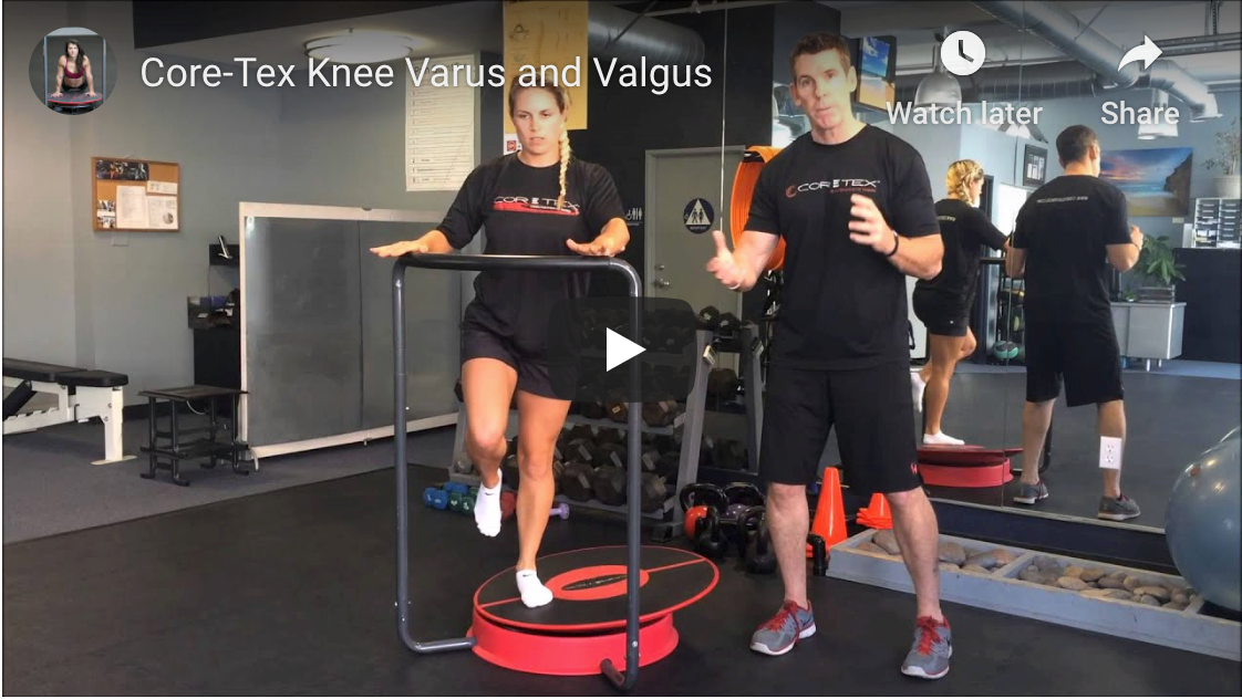 Core-Tex™ Knee Varus and Valgus