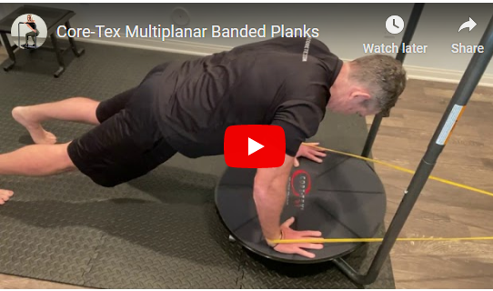 Core-Tex Resisted Plank Challenge