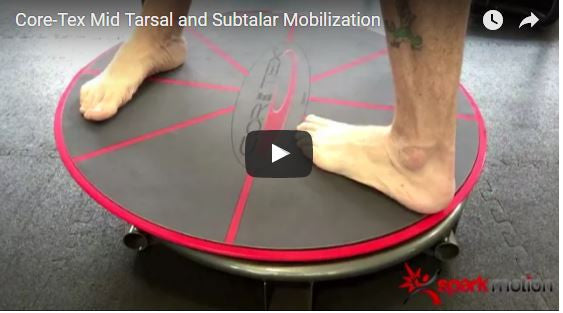 "Foot and Ankle Rehab ""Tricks"" Positioning the Core-Tex Platform"